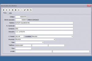 Ficha de sucursal en los programas de facturacion